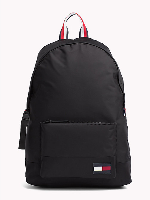 TOMMY HILFIGER Escape Travel Backpack with Top Handle - BLACK - TOMMY HILFIGER Bags & Accessories - main image