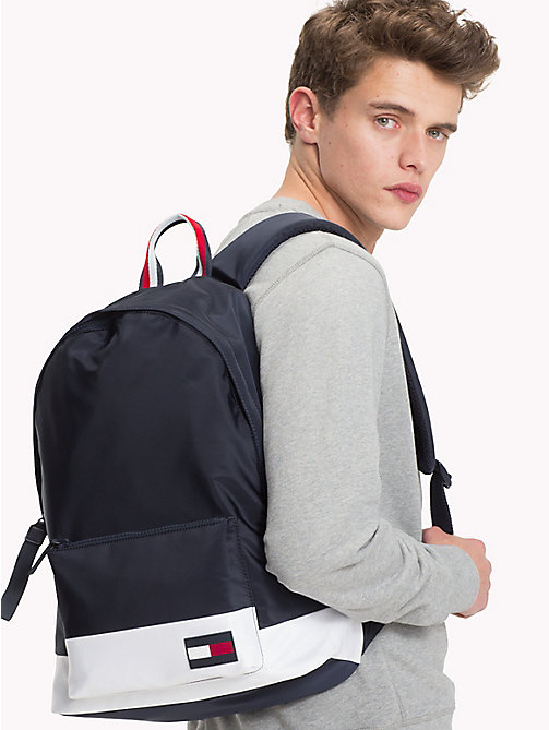 TOMMY HILFIGER Escape Travel Backpack with Top Handle - CORPORATE - TOMMY HILFIGER Backpacks - detail image 1