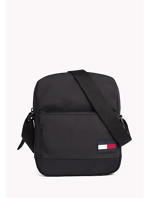 TOMMY HILFIGER Escape Cross Body Reporter Bag - BLACK - TOMMY HILFIGER NEW IN - main image