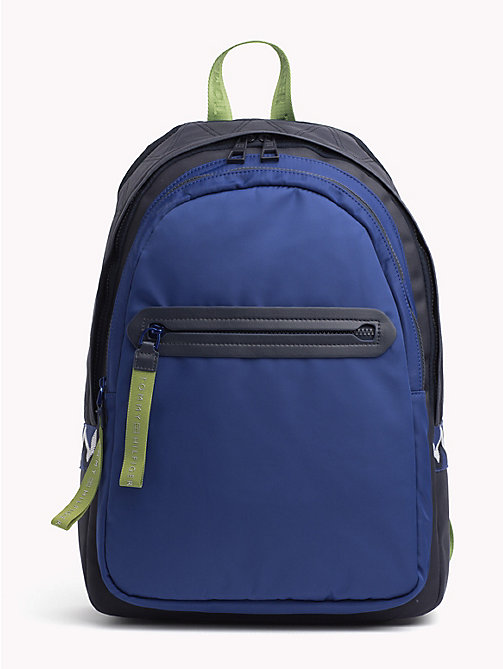 TOMMY HILFIGER Explorer Signature Tape Detail Backpack - TOMMY NAVY - TOMMY HILFIGER Bags & Accessories - main image
