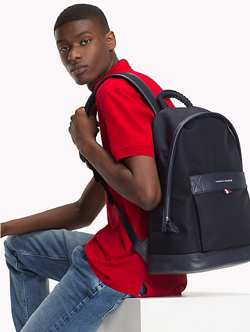 TOMMY HILFIGER Tailored Nylon Backpack - TOMMY NAVY - TOMMY HILFIGER Backpacks - detail image 1
