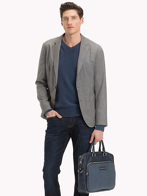 TOMMY HILFIGER Corporate Executive Laptop Bag - AIRFORCE BLUE - TOMMY HILFIGER NEW IN - detail image 1
