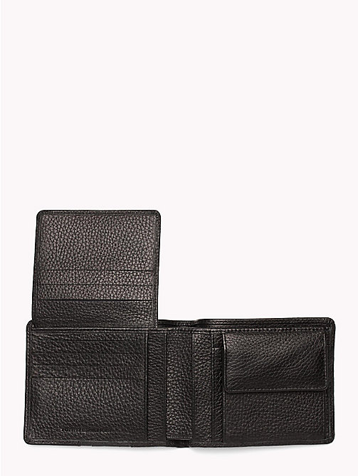 TOMMY HILFIGER Heritage Panelled Leather Wallet - BLACK - TOMMY HILFIGER NEW IN - detail image 1