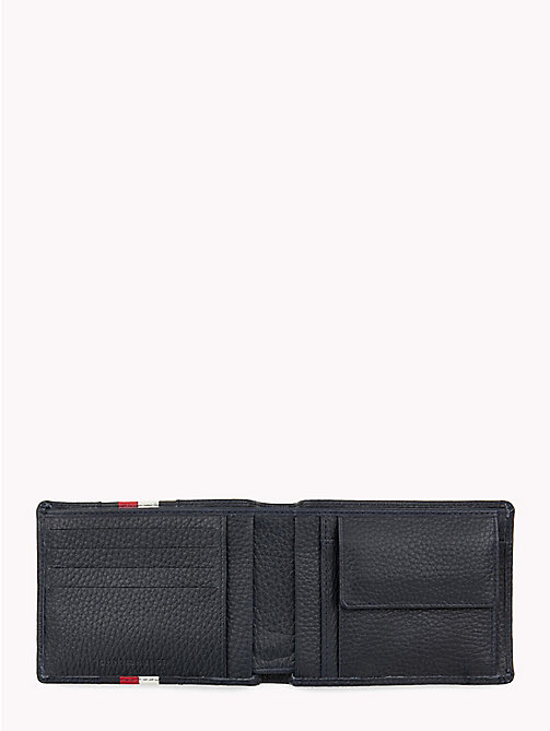 TOMMY HILFIGER Heritage Panelled Leather Wallet - TOMMY NAVY - TOMMY HILFIGER Wallets & Keyrings - detail image 1
