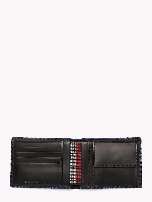 TOMMY HILFIGER Edge Stitch Coin and Card Holder - BLACK - TOMMY HILFIGER NEW IN - detail image 1