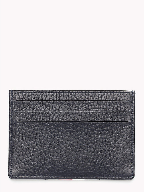 TOMMY HILFIGER Heritage Panelled Leather Cardholder - TOMMY NAVY - TOMMY HILFIGER NEW IN - detail image 1