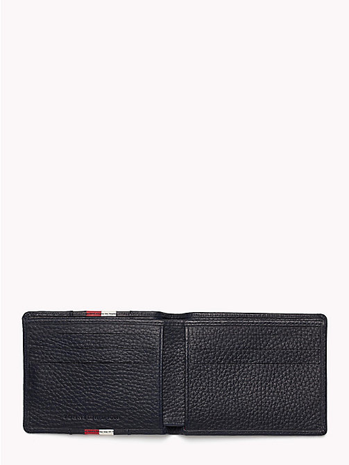 TOMMY HILFIGER Heritage Small Panelled Leather Wallet - TOMMY NAVY - TOMMY HILFIGER Wallets & Keyrings - detail image 1