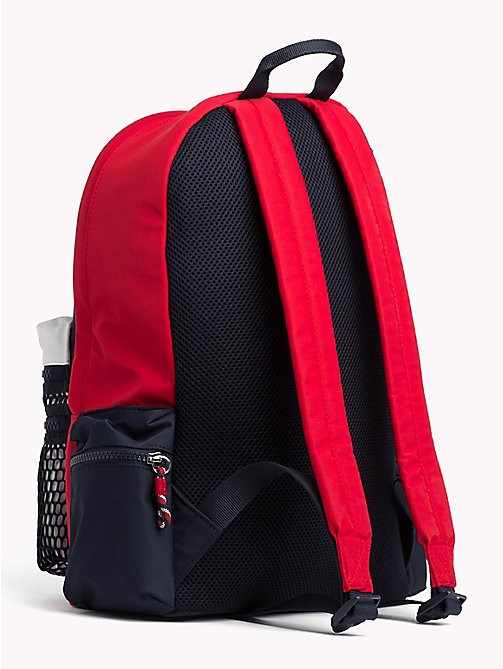 TOMMY HILFIGER Kids' Signature Colour-Blocked Backpack - CORPORATE - TOMMY HILFIGER Bags & Accessories - detail image 1