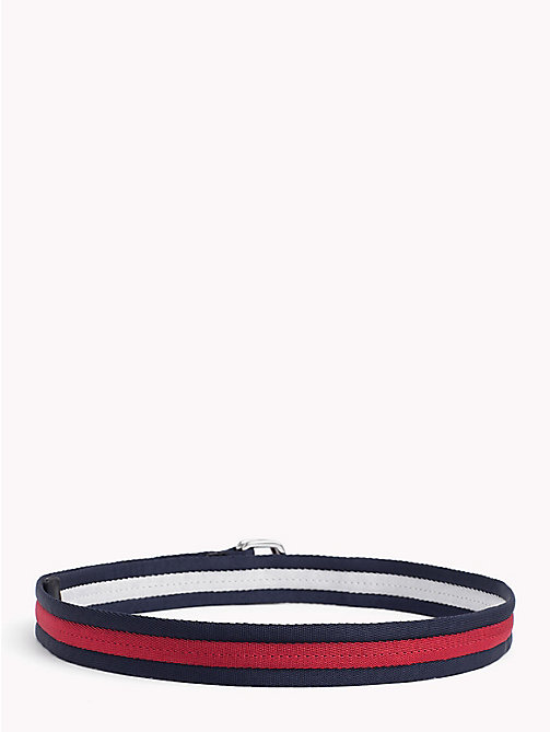 TOMMY HILFIGER Signature Stripe Webbed Belt - CORPORATE -  Bags & Accessories - detail image 1