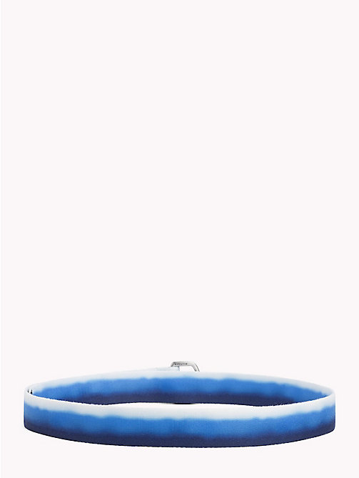 TOMMY HILFIGER Retro Webbing Belt - BLUE MIX - TOMMY HILFIGER Bags & Accessories - detail image 1