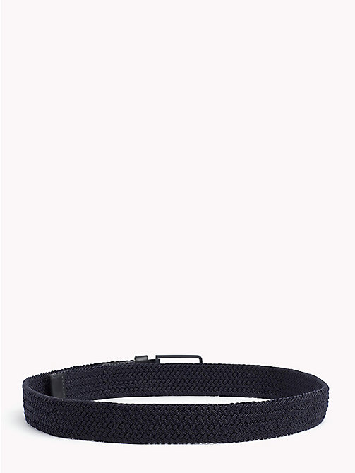 TOMMY HILFIGER Stretch Woven Belt - TOMMY NAVY - TOMMY HILFIGER Bags & Accessories - detail image 1