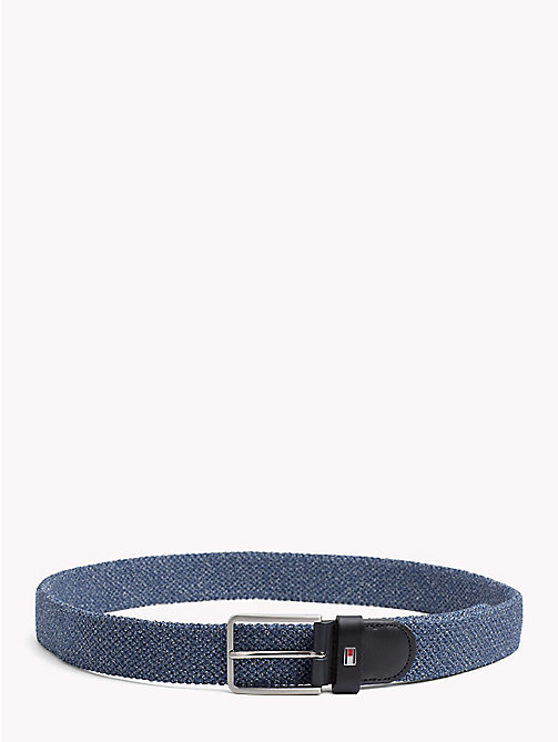TOMMY HILFIGER Stretch Denim Belt - DENIM - TOMMY HILFIGER Bags & Accessories - main image