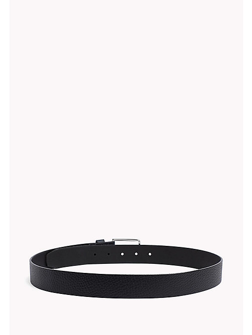 TOMMY HILFIGER Grained Leather Belt - TOMMY NAVY - TOMMY HILFIGER Belts - detail image 1