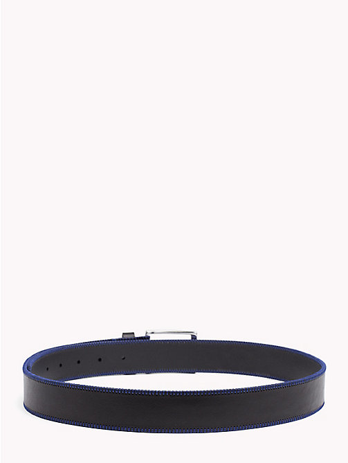 TOMMY HILFIGER Stitch Detail Belt - BLACK - TOMMY HILFIGER NEW IN - detail image 1