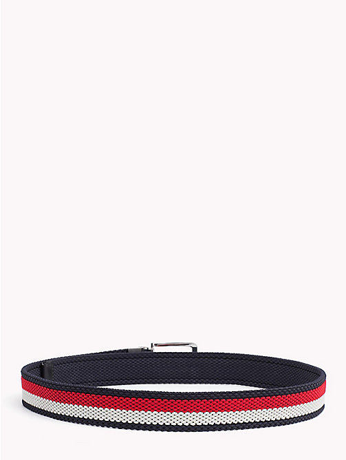 TOMMY HILFIGER Reversible Belt With Silver Tone Buckle - CORPORATE - TOMMY HILFIGER Bags & Accessories - detail image 1