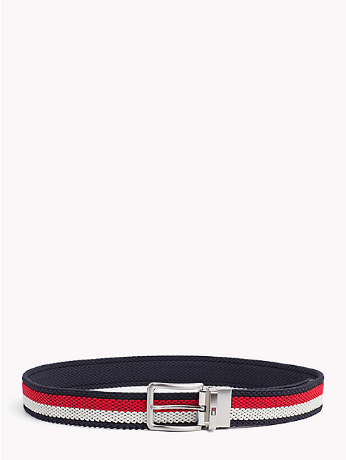 TOMMY HILFIGER Reversible Belt With Silver Tone Buckle - CORPORATE - TOMMY HILFIGER Bags & Accessories - main image