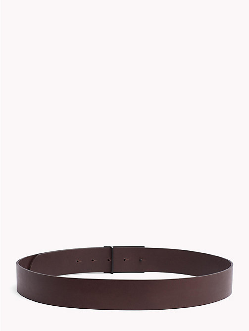 TOMMY JEANS Embossed Plaque Belt - TESTA DI MORO - TOMMY JEANS NEW IN - detail image 1