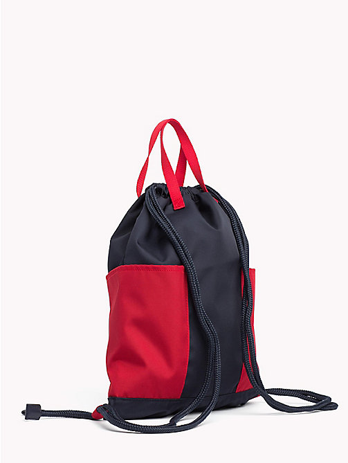 TOMMY HILFIGER Kids' Drawstring Sports Backpack - CORPORATE - TOMMY HILFIGER Bags & Accessories - detail image 1