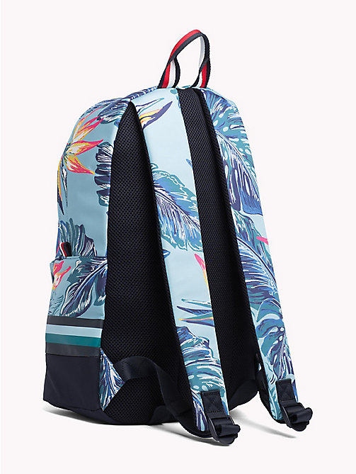 TOMMY HILFIGER Tropical Print Laptop Backpack - FLORAL PRINT - TOMMY HILFIGER Bags & Accessories - detail image 1
