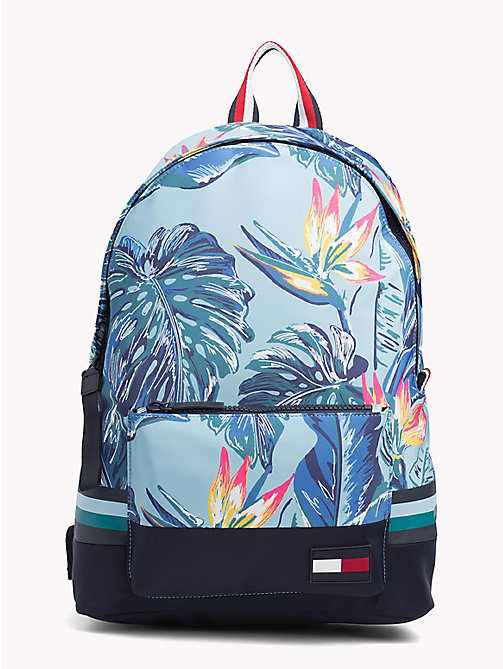 TOMMY HILFIGER Tropical Print Laptop Backpack - FLORAL PRINT - TOMMY HILFIGER Bags & Accessories - main image