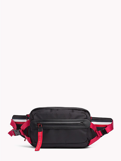 TOMMY HILFIGER Explorer Signature Tape Cross-Body Bag - BLACK - TOMMY HILFIGER Crossbody Bags - main image