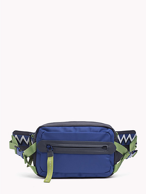 TOMMY HILFIGER Explorer Signature Tape Cross-Body Bag - TOMMY NAVY - TOMMY HILFIGER Crossbody Bags - main image