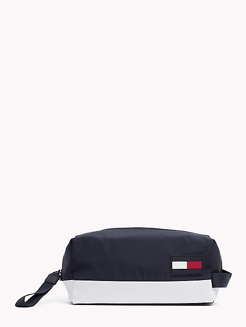 TOMMY HILFIGER Escape Colour-Blocked Zip Washbag - CORPORATE - TOMMY HILFIGER Bags & Accessories - main image