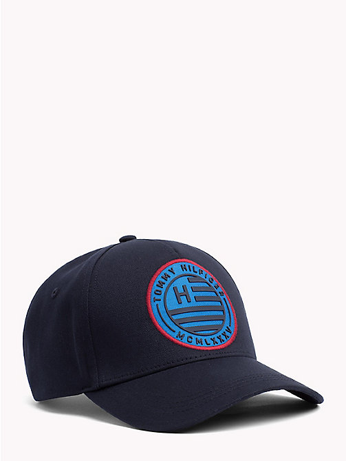 TOMMY HILFIGER Logo Badge Cap - TOMMY NAVY - TOMMY HILFIGER Bags & Accessories - main image