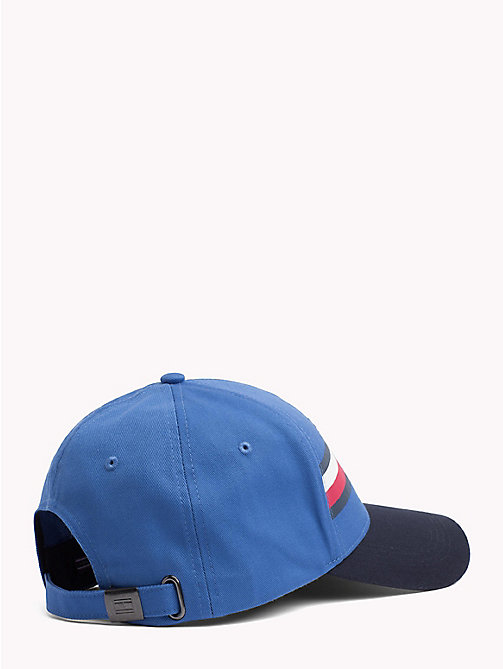 TOMMY HILFIGER Logo Baseball Cap - STRONG BLUE - TOMMY HILFIGER Hats - detail image 1