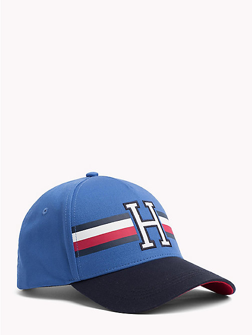 TOMMY HILFIGER Logo Baseball Cap - STRONG BLUE - TOMMY HILFIGER Hats - main image