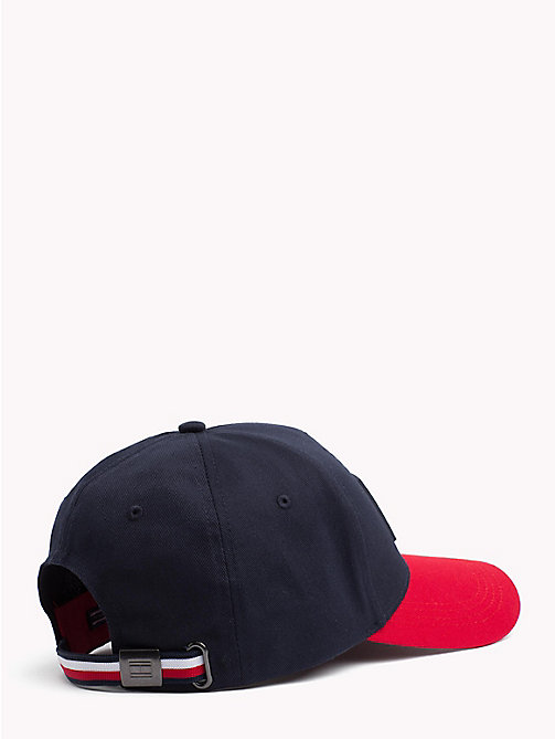 TOMMY HILFIGER Colour-Blocked Flag Cap - TOMMY NAVY - TOMMY HILFIGER Bags & Accessories - detail image 1