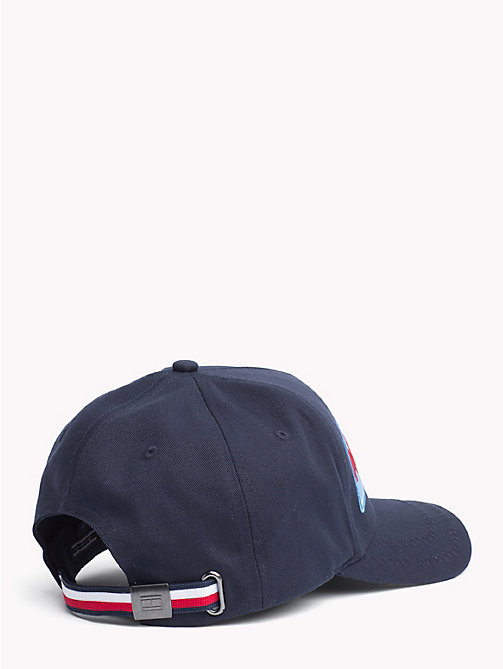 TOMMY HILFIGER Logo Embroidery Baseball Cap - TOMMY NAVY- CLOUD - TOMMY HILFIGER Hats - detail image 1