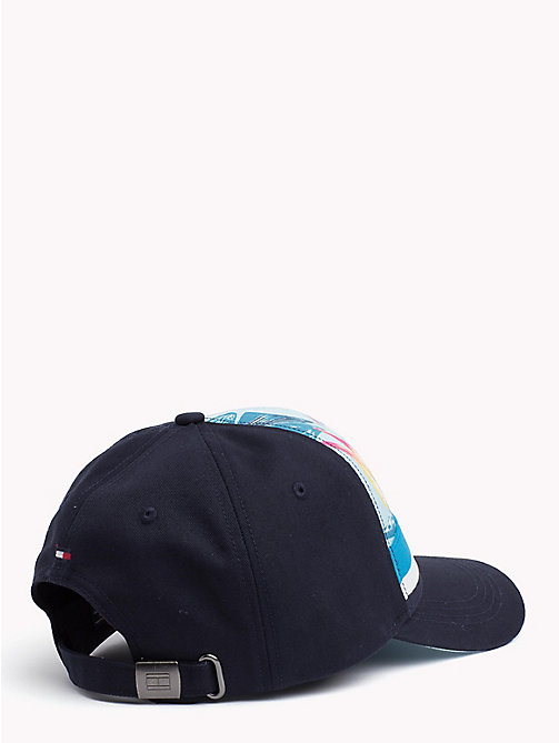 TOMMY HILFIGER Tropical Print Cap - LIGHT BLUE FLORAL - TOMMY HILFIGER Hats - detail image 1