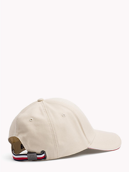 TOMMY HILFIGER Signature Stripe Baseball Cap - OYSTER GRAY - TOMMY HILFIGER Bags & Accessories - detail image 1