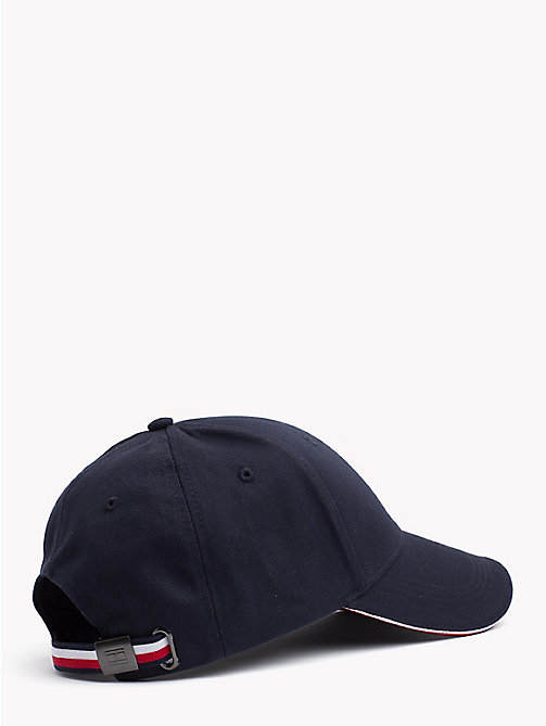 TOMMY HILFIGER Signature Stripe Baseball Cap - TOMMY NAVY - TOMMY HILFIGER Bags & Accessories - detail image 1