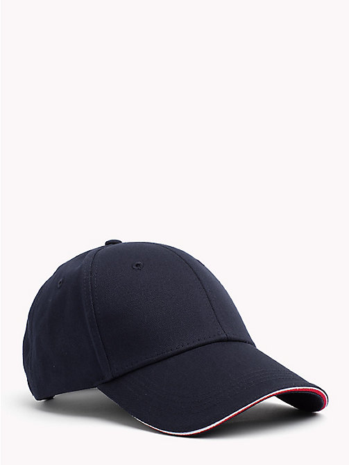 TOMMY HILFIGER Signature Stripe Baseball Cap - TOMMY NAVY - TOMMY HILFIGER Bags & Accessories - main image