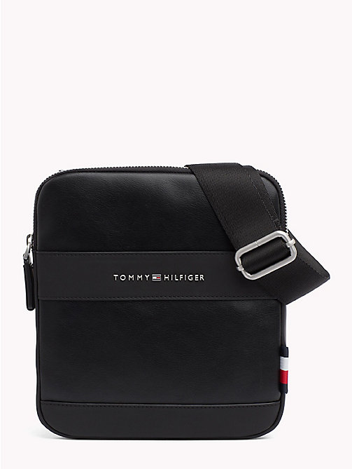 TOMMY HILFIGER Mini sac bandoulière TH City - BLACK - TOMMY HILFIGER Besaces - image principale