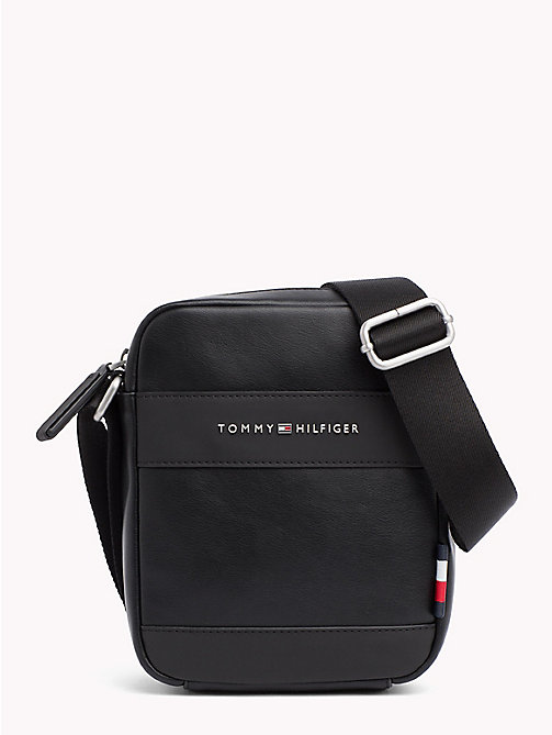 TOMMY HILFIGER Mini sac reporter TH City - BLACK - TOMMY HILFIGER Besaces - image principale