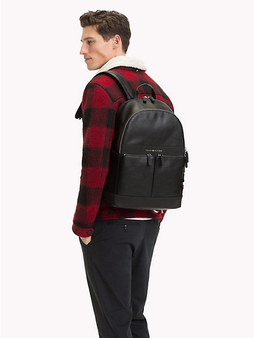 TOMMY HILFIGER TH City Backpack - BLACK - TOMMY HILFIGER Backpacks - detail image 1