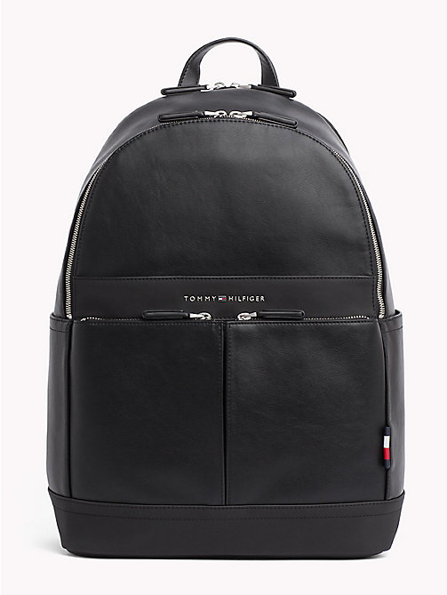 TOMMY HILFIGER TH City Backpack - BLACK - TOMMY HILFIGER Backpacks - main image