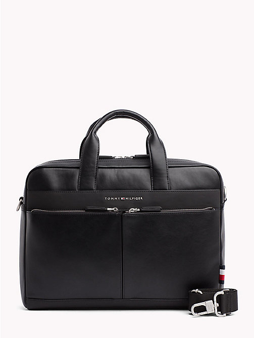 TOMMY HILFIGER TH City Computer Bag - BLACK - TOMMY HILFIGER Laptop Bags - main image