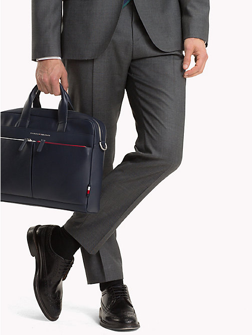 TOMMY HILFIGER Sac d'ordinateur portable TH City - TOMMY NAVY - TOMMY HILFIGER Looks de bureau - image détaillée 1