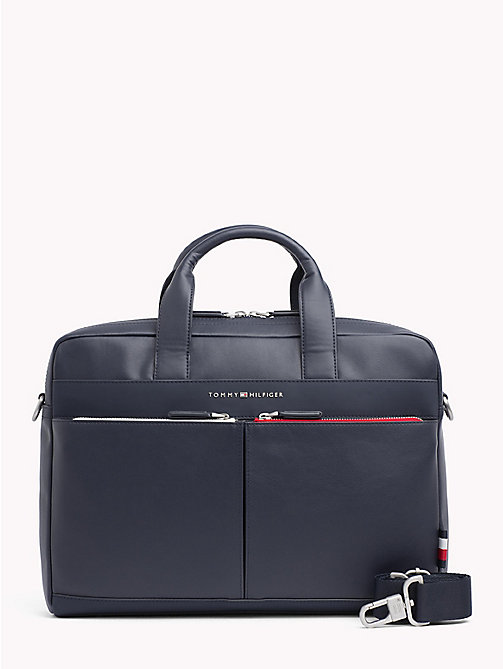 TOMMY HILFIGER TH City Computer Bag - TOMMY NAVY - TOMMY HILFIGER Laptop Bags - main image