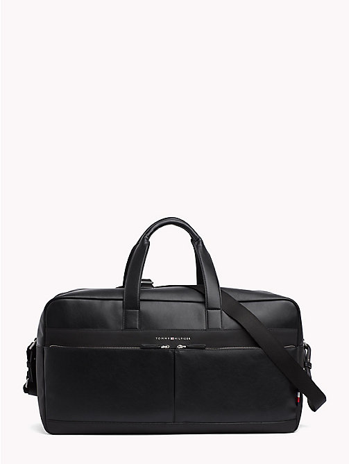 TOMMY HILFIGER TH City Weekender Bag - BLACK - TOMMY HILFIGER Duffle Bags - main image