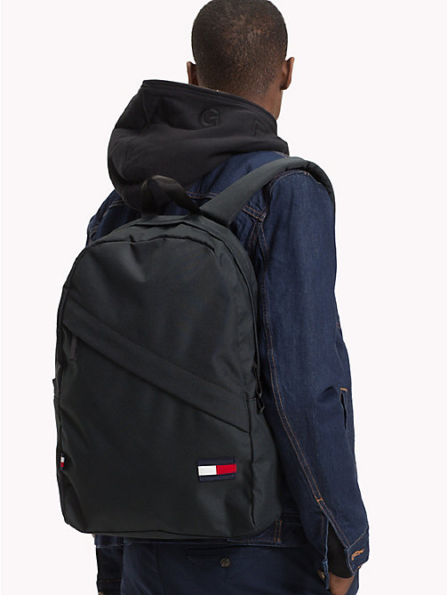 TOMMY HILFIGER Tommy Core Backpack - BLACK - TOMMY HILFIGER Bags & Accessories - detail image 1