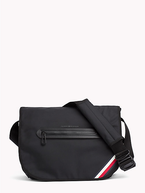 TOMMY HILFIGER Easy Messenger Bag - BLACK - TOMMY HILFIGER Messenger Bags - main image