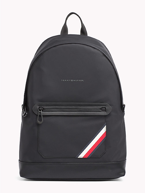 TOMMY HILFIGER Easy Stripe Backpack - BLACK - TOMMY HILFIGER NEW IN - main image