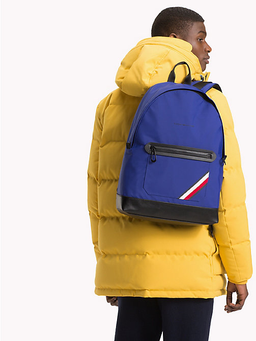 TOMMY HILFIGER Easy Stripe Backpack - SODALITE BLUE - TOMMY HILFIGER Backpacks - detail image 1