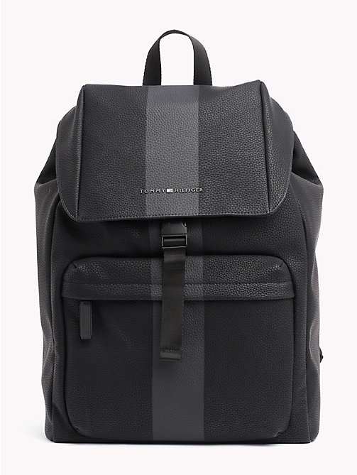 TOMMY HILFIGER Block Stripe Backpack - BLACK - TOMMY HILFIGER Bags & Accessories - main image