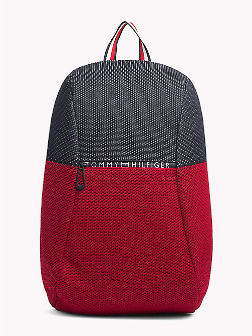 TOMMY HILFIGER Colour-Blocked Waterproof Technical Backpack - CORPORATE - TOMMY HILFIGER Backpacks - main image